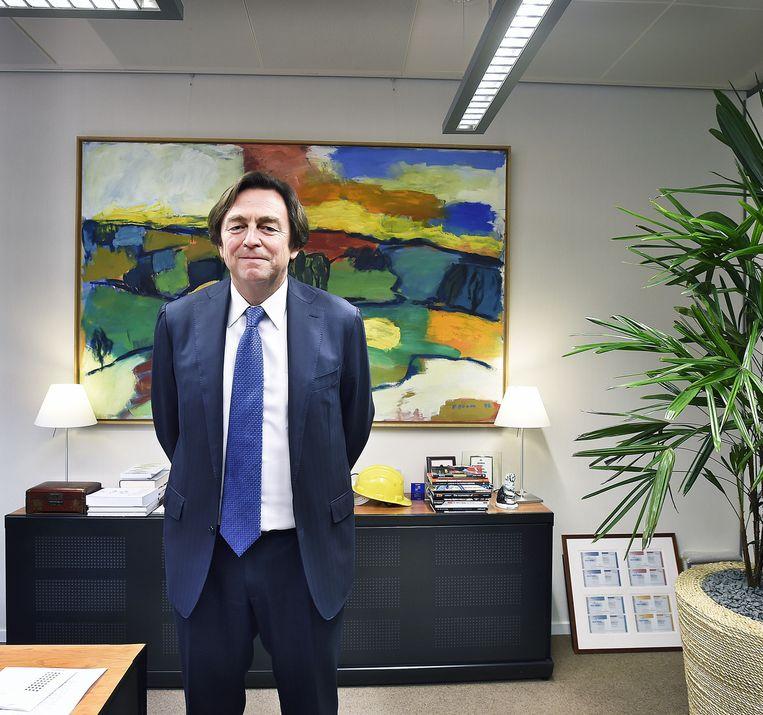 Hans Wijers. Beeld Guus Dubbelman / de Volkskrant