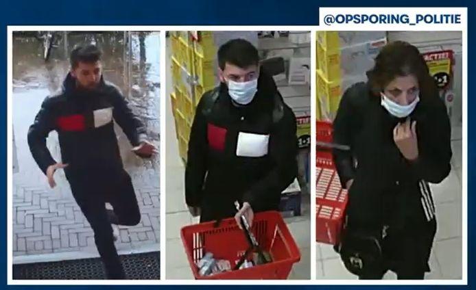 De politie is op zoek naar deze man en vrouw die een winkeldiefstal pleegden bij een Kruidvat in Ede.