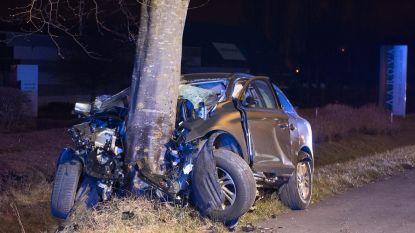 Dj (24) op slag dood na crash tegen boom