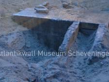 Bunker uit Tweede Wereldoorlog gevonden bij werkzaamheden Kijkduin