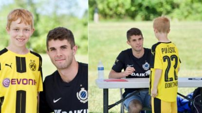 Amerikaans supertalent poseert verrassend met logo Club Brugge op de borst