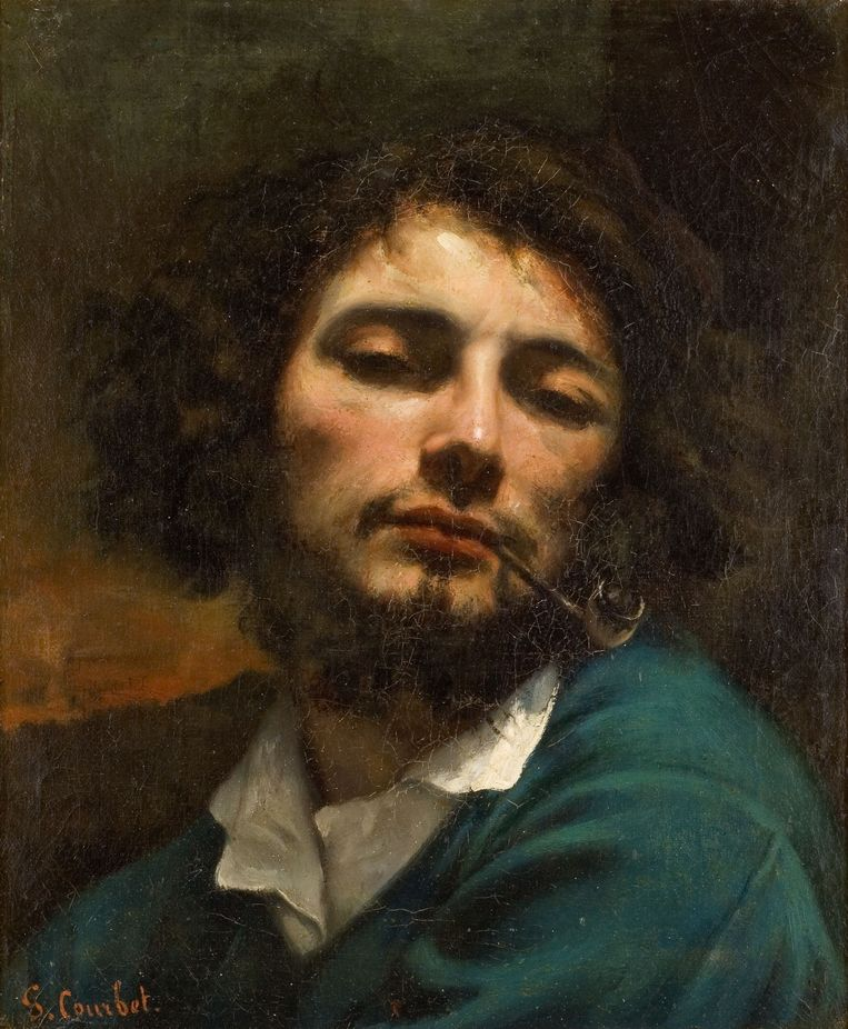 Gustave Courbet Beeld Musée Fabre, Montpellier
