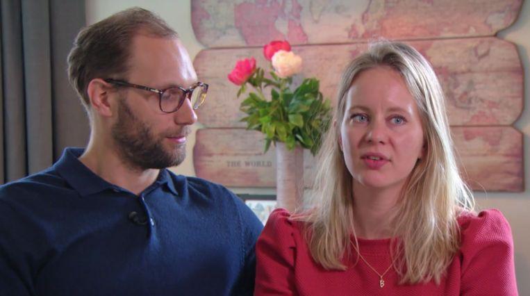 Bas en Sofie in 'Kopen zonder kijken' Beeld Screenshot RTL4