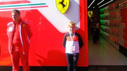 Kartpiloot Liam (10) ontmoet F1-idolen