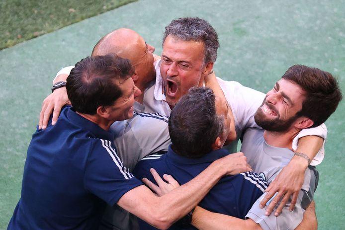 Luis Enrique a souffert sur son banc, mais la délivrance est au bout du chemin pour l'Espagne.
