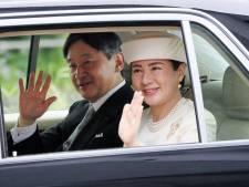 Eerste dag op de troon: nieuwe keizer bidt voor geluk Japanners