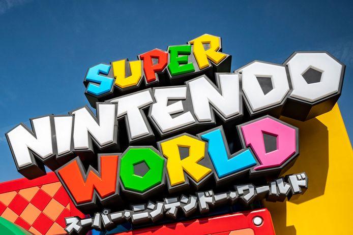 """""""Super Nintendo World"""" a ouvert ses portes au Japon."""
