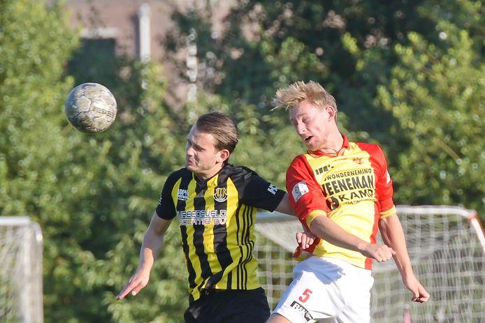 De Apeldoorn Cup-wedstrijd tussen Columbia en CSV Apeldoorn van een paar jaar geleden.