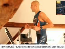 Maarten van der Weijden haalt ruim 92.000 euro op met thuistriatlon