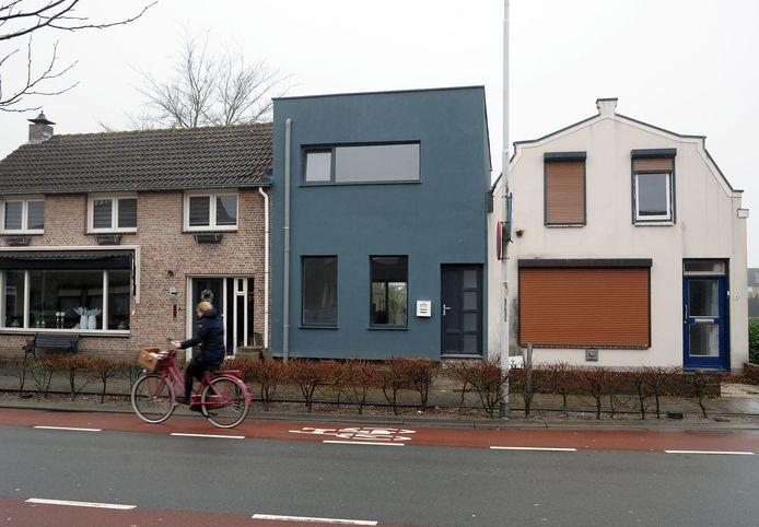 Het huis aan de Nieuwendijk nummer 13 in Axel.