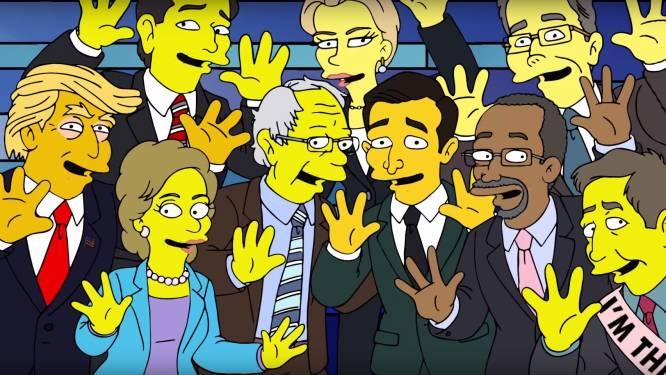Een wereld waarin politici met elkaar overeenkomen, het kan... bij de Simpsons