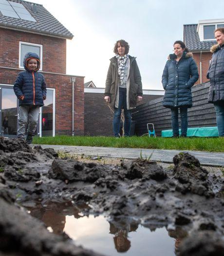 Keiharde grondlaag blijkt oorzaak waterellende in Harderwijk