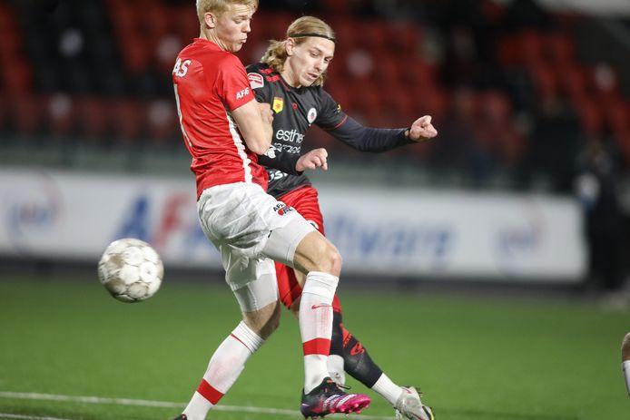 Elías Már Ómarsson maakte de 0-1 voor Excelsior.