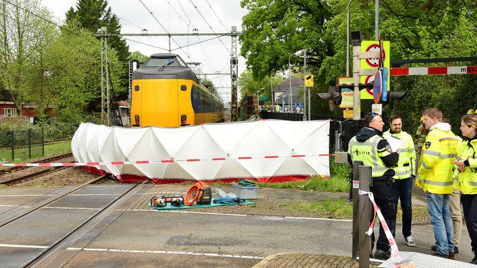 In de trein zaten ongeveer 140 reizigers. Van hen raakte niemand gewond.