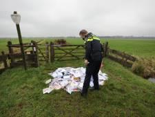 Mysterie: waarom liggen er bergen post in de polder van Soest?