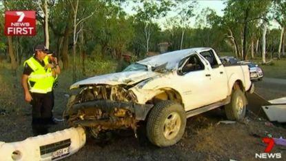 Tieltse overleeft zware crash in Australië