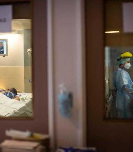 Plus de 700 personnes encore en soins intensifs