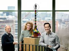 Team bouwkunde TU Eindhoven maakt inklapbare windmolen voor energie op festivals