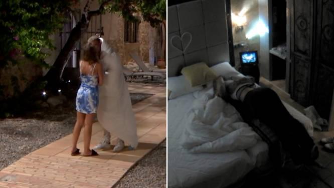 De eerste kussen zijn een feit in 'Temptation Island: Love or Leave'