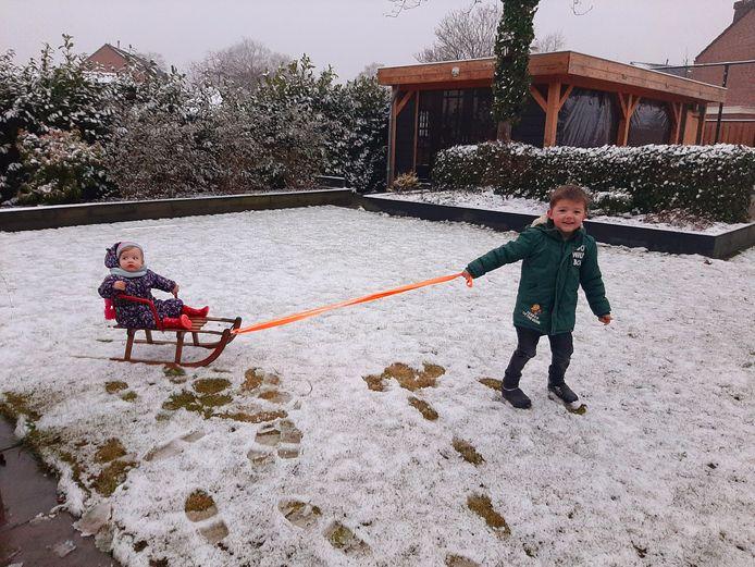 Lekker spelen in de sneeuw: doen nu het nog kan!