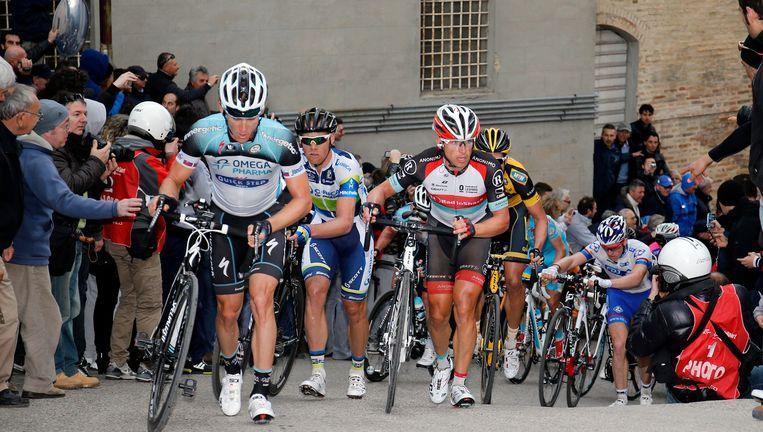 Staan ook nu weer renners te voet in de Tirreno? Beeld BELGA