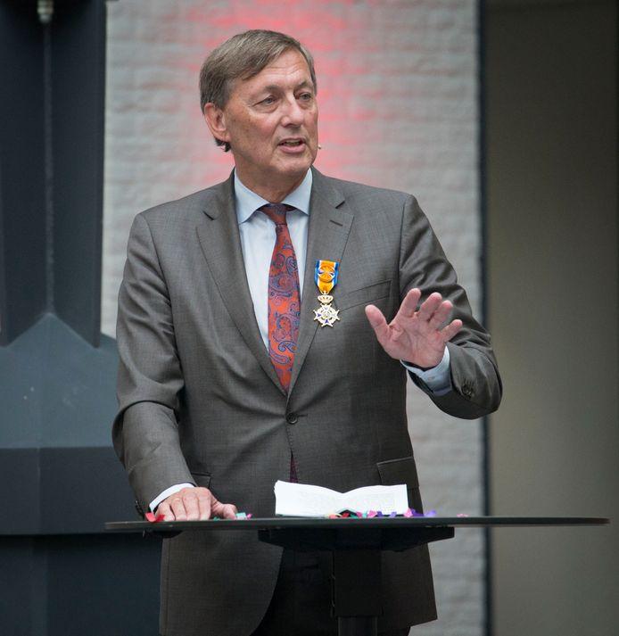 Paul Rüpp kreeg donderdagmiddag een koninklijke onderscheiding.