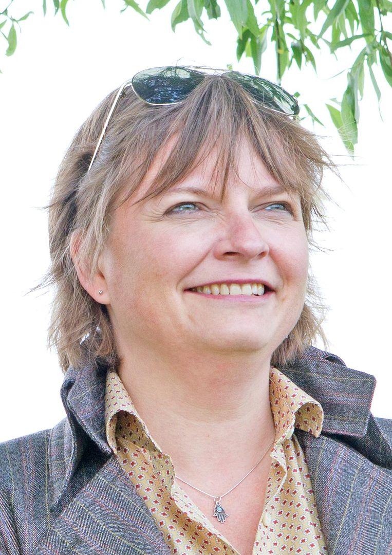 Martine Prange is voormalig profspeler en hoogleraar filosofie van de mens, cultuur en samenleving. Beeld Dik Nicolai