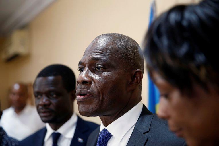 Oppositiekandidaat Martin Fayulu wordt genoemd als winnaar. Beeld REUTERS