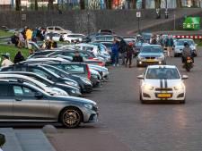 Veel overlast op de Arnhemse Rijnkade: 'Leipo's met kleine piemeltjes die over de kade scheuren'