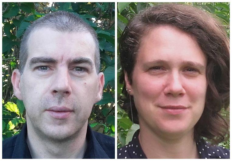 Peter Tom Jones en Vicky De Meyere. Beeld RV
