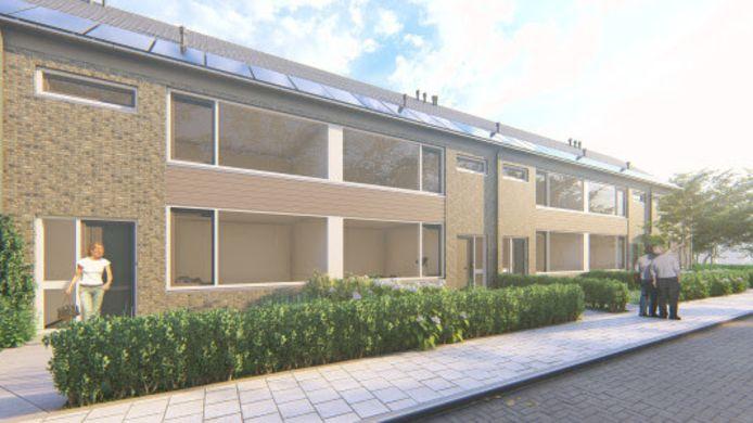 116 woningen in Schuilenburg worden verduurzaamd.