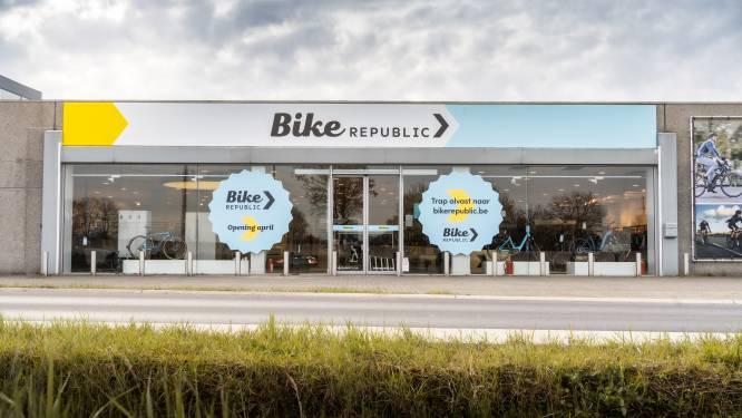 """Fietsenketen Bike Republic opent nieuwe winkel in Oudenaarde: """"We onderhouden en herstellen ook fietsen die niet bij ons zijn gekocht"""""""