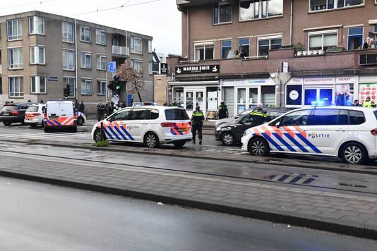 Zwaargewonde bij steekpartij op de Rijswijkseweg.