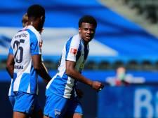 Dilrosun, Zeefuik en Redan moeten met heel Hertha BSC veertien dagen in quarantaine