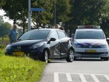 Auto's botsen in Didam: één gewonde