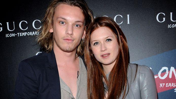 Jamie en Bonnie in april 2010.