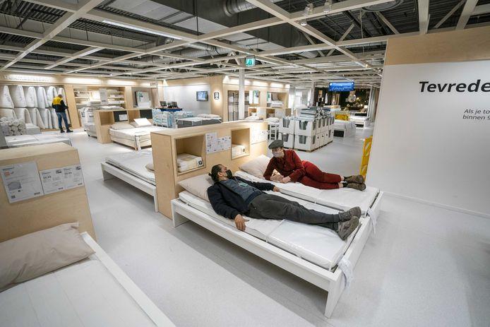 Wie een bezoekje wil brengen aan de Ikea heeft pech.