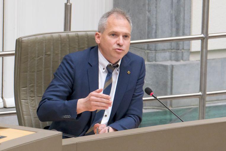 In een reactie zegt Vlaams minister van Financiën Matthias Diependaele (N-VA) dat nieuwe belastingen voor hem in ieder geval niet aan de orde kunnen zijn. Beeld BELGA