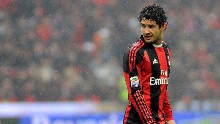 Alexandre Pato speelde zes seizoenen voor AC Milan. Beeld AP