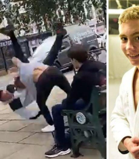 Agressé par un homme, cet adolescent s'avère être un champion du monde junior de jujitsu