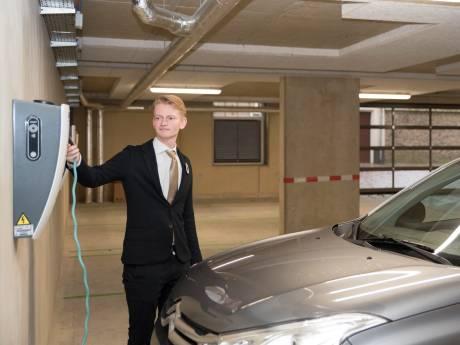 Zierikzees Hotel Mondragon is bewust van risico met elektrische auto's in parkeerkelder