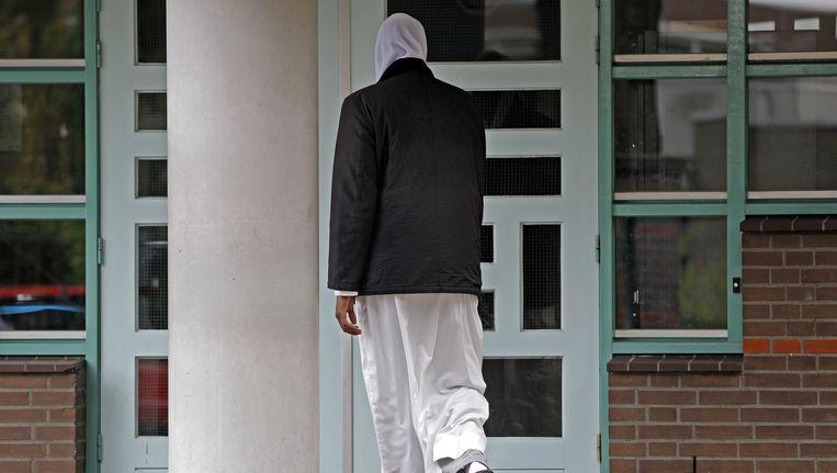 Beeld van de El-Fourkaan moskee in Eindhoven, archiefbeeld Beeld Anp