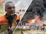 Brand verwoest hoofdgebouw Beekse Bergen: 'Gebouw was niet meer te redden'