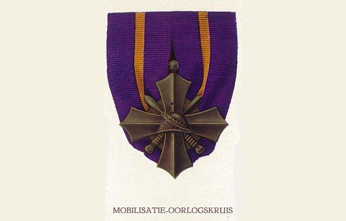 Het Mobilisatie-Oorlogskruis.