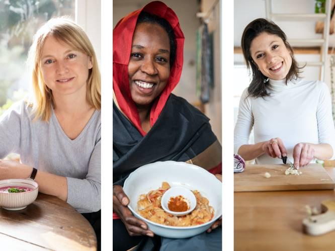 """Voor op drukke dagen: 3 vrouwen delen een voedzaam gerecht uit hun cultuur dat snel klaar is. """"Belgen zijn conservatief, vind ik"""""""