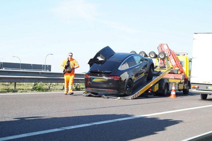 Ongeval bij Waalwijk