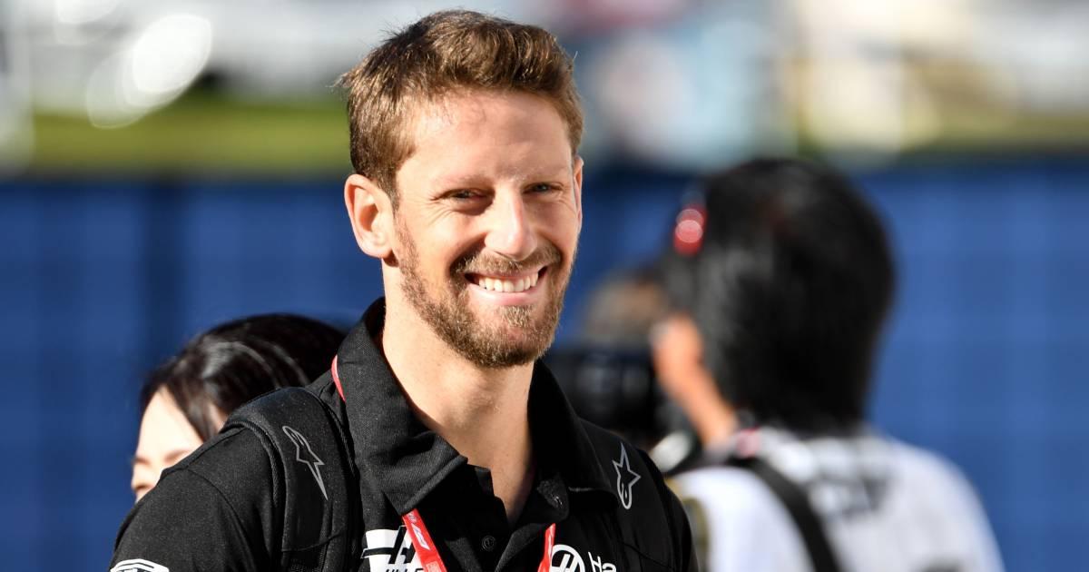 Grosjean na eerste test sinds F1-crash: 'Voelde geen angst, het was geweldig' - AD.nl