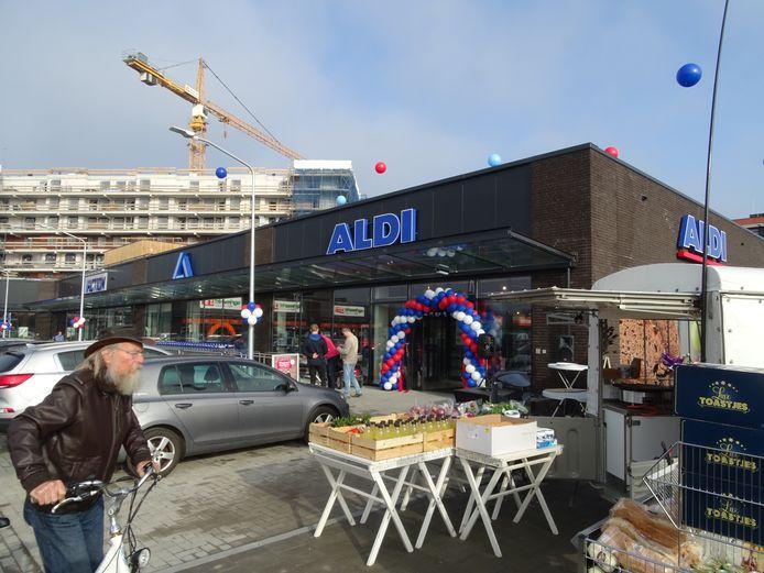 Nieuwe vestiging Aldi in Terneuzen geopend.