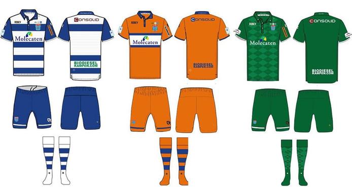 Nieuwe shirts voor PEC Zwolle