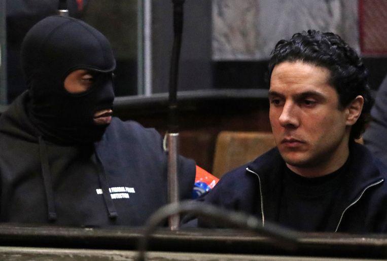 Mehdi Nemmouche in de rechtbank in Brussel op zijn proces in maart van dit jaar.